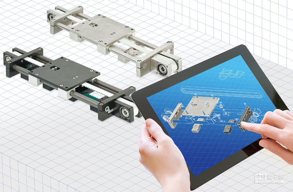 透過易格斯新drylin ZLW直線模組系統,客戶能夠客製設計軌道和滑塊。圖/igus GmbH提供