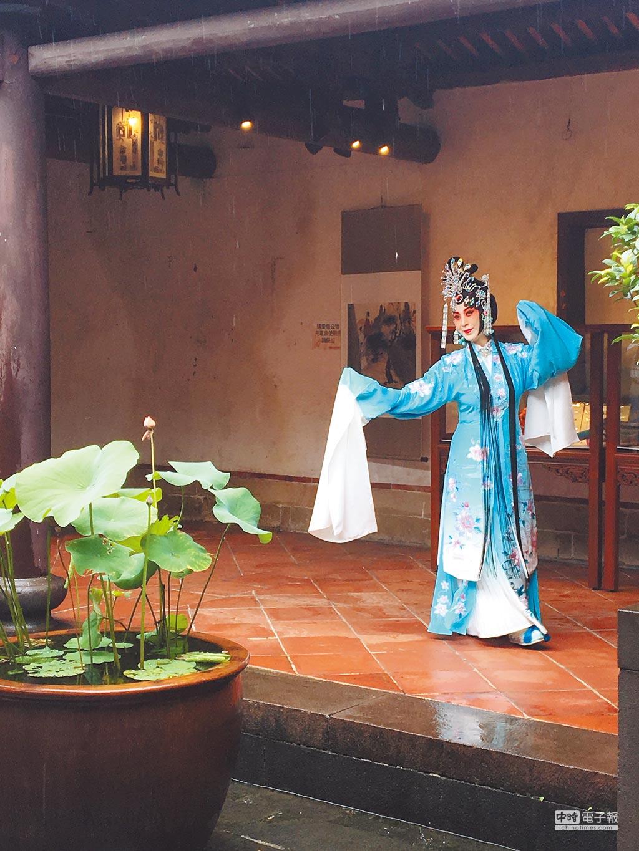 現代京劇《青衣》來台首演。(記者李怡芸攝)