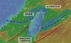 真的護國神山 中央山脈也能破壞梅雨鋒面
