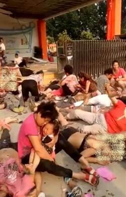 江蘇幼兒園爆炸7死66傷 現場血肉模糊