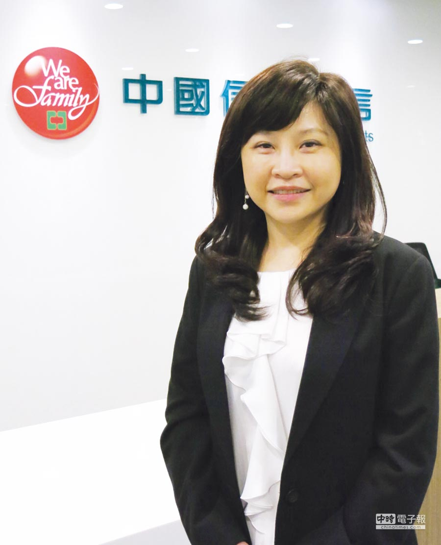 中國信託投信投資長林瑞瑤。圖/業者提供
