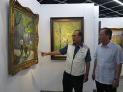 15年創作900幅油畫 何明宗精選55幅開個展