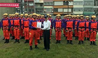 桃園消防演示紮實訓練 及時投入災害搶救