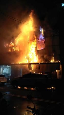 中市「夜間部爌肉飯」名店起火  3人跳窗逃生