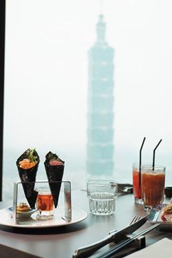 台.北.新.餐.廳-信義區最新高樓景觀Buffet餐廳 〈INPARADISE饗饗〉6月20日開賣