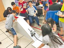 海東推廣機器人 學子秀成果