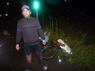 貧男不耐飢餓偷西瓜 夜雨天遇熱心警反被逮