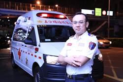 北市消防局薛家帆 獲十大傑出救護技術員第一名
