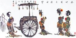 楊小寧傳承新漢畫