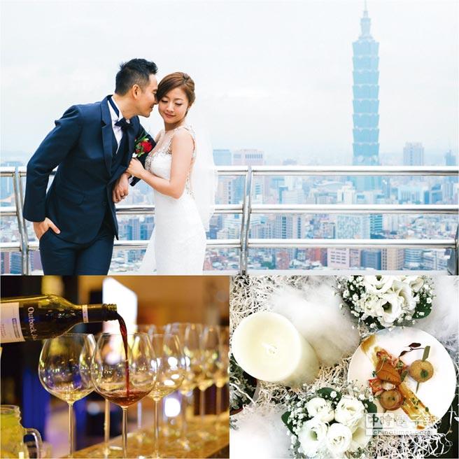 台北遠東飯店今(18)日推出品味婚禮體驗日,安排專業的舞蹈老師引領新人體驗唯美婚宴舞,更有新娘秘書提供免費試妝服務。先訂優惠多。圖/業者提供