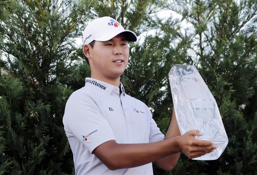韓21歲新秀金時雨,明挑戰美國公開賽第1位亞洲選手冠軍。(美聯社資料照)