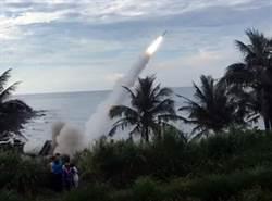 中科院進行愛國者二型飛彈實彈攔截演訓
