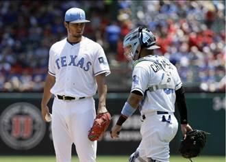 MLB》達比修慢熱 生涯首度在阿靈頓輸水手