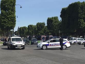 法攜槍男子駕車衝撞警車 總統府街區封鎖
