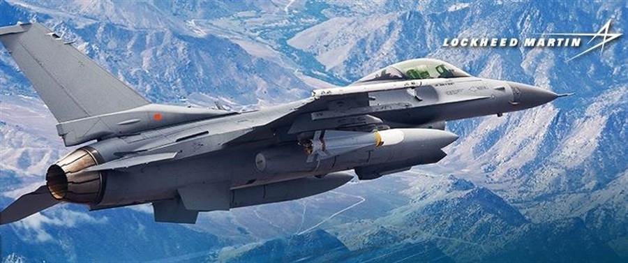 F-16 Block 70戰機是洛馬F-16戰機系列中最先進的戰機。(圖/洛克希德馬丁)