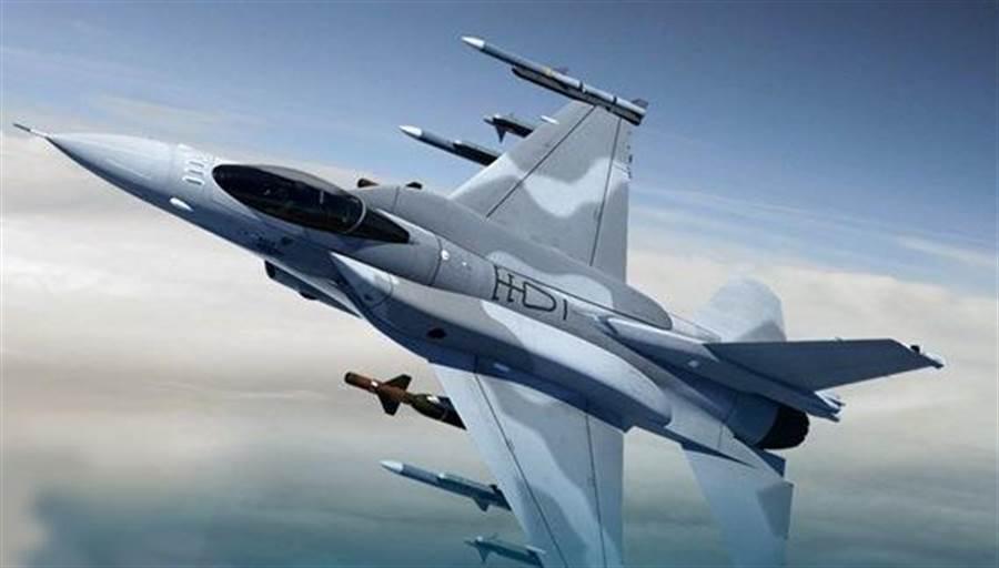 F-16 Block 70戰機是以F-16V航電架構為基礎打造的新戰機。(圖/洛克希德馬丁)