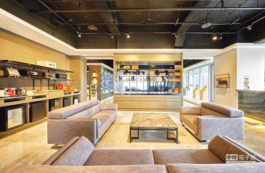 遠隆國際開發在台中打造上百坪飯店經理人專屬採購空間,受到飯店業者的肯定與推崇。圖/業者提供  文/陳又嘉