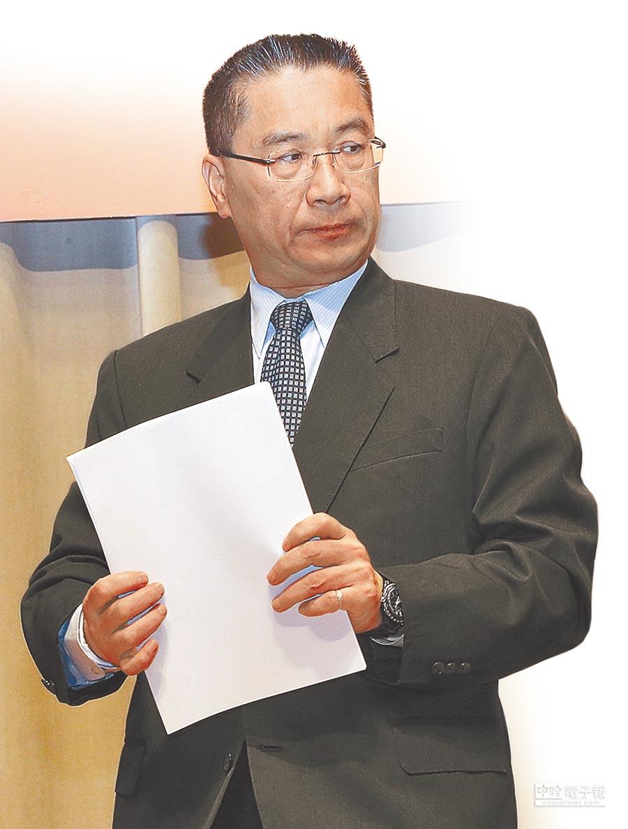 行政院發言人徐國勇高分貝回擊郝明義。(本報資料照片)