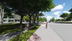 台中之心人本通行空間工程啟動 明年完工