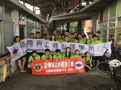 銘傳心理系騎跡宜蘭 單車慈善與環保之旅成功