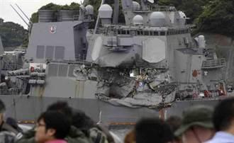 神盾艦撞船事件:日找到黑盒子 傳5美兵幾乎當場死亡