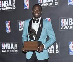 NBA》勇士第1人 格林最佳防守球員