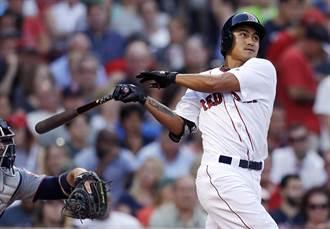 MLB》守備穩+長打爆發 紅襪大膽啟用林子偉