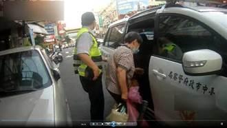 公車司機拒載 警車護送老婦送醫