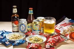 蔥燒辣小魚花生下酒百搭 夏天就是要喝 Beer