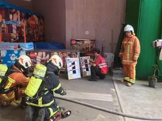 桃市消防局與小人國合作 演練大量傷病患救災