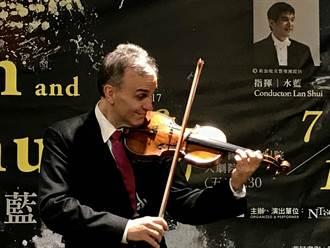 名家抵台   小提琴家夏漢:音樂讓人聚在一起