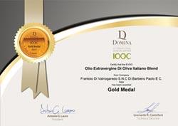 聚德富農家瑞特級橄欖油 獲義大利金牌勳章