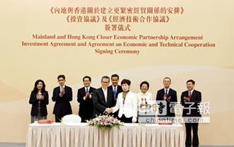 香港回歸20年 陸送港 進化版CEPA