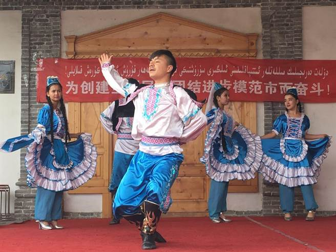 維吾爾族,喀贊其,新疆,民俗旅遊區,台灣,新媒體