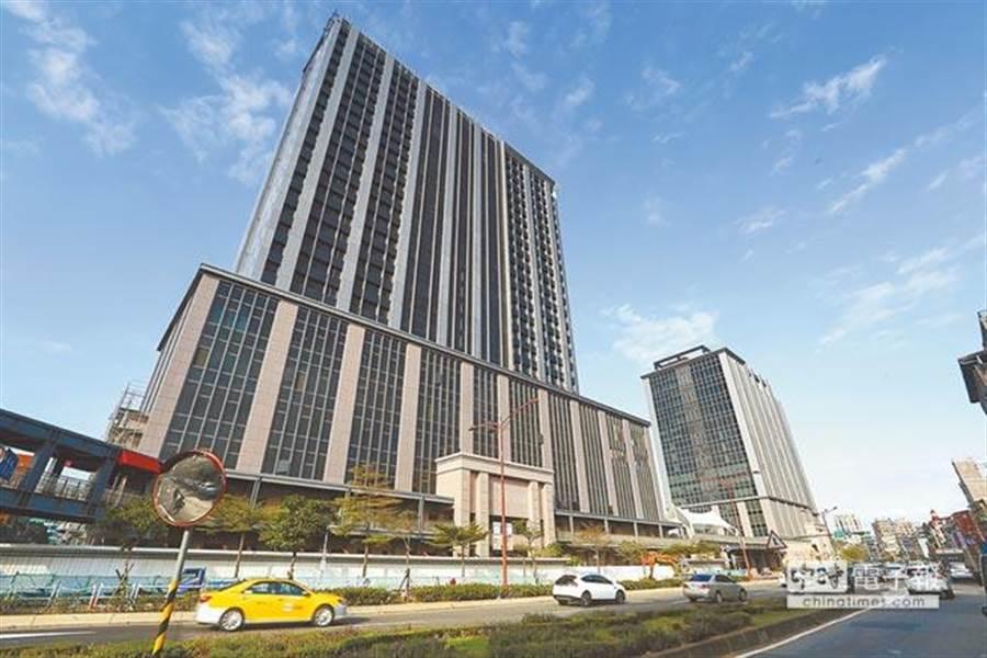 凱撒飯店連鎖打造的新飯店品牌「台北凱達大飯店」,座落於萬華雙子星大樓。(報系資料照,鄧博仁攝)