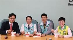 新加坡副代表 拜會民進黨中市黨部