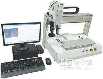 點膠科技研發 自動視覺定位點膠機