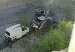 罕見!大馬士革今傳3起汽車炸彈攻擊