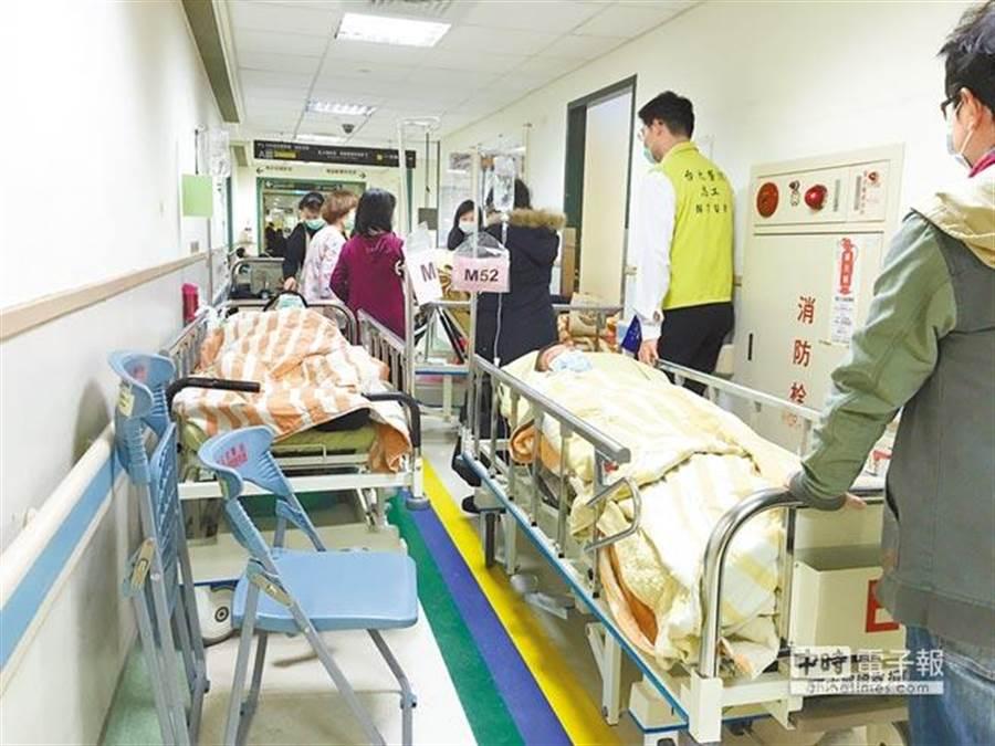 「全台醫院民眾好感度調查」發現,台大醫院第一,林口長庚第二。(楊兆元攝)