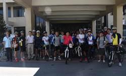 臺海大單車社歡樂啟程 預計12天完成環島