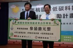 桃園市長鄭文燦全力支持在地產業轉型低碳綠色化 與彰銀合作推出推展綠能產業專案貸款
