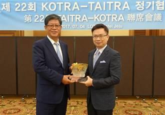 貿協攜手大韓貿易投資振興公社 擴大跨境電商與新創合作