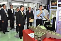 參訪漢翔 陳副總統肯定機械及航太產業發展