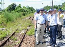 關山月眉鐵道改建鐵馬道 明年初完工