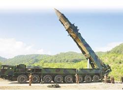 北韓射彈打臉 美嗆準備開戰