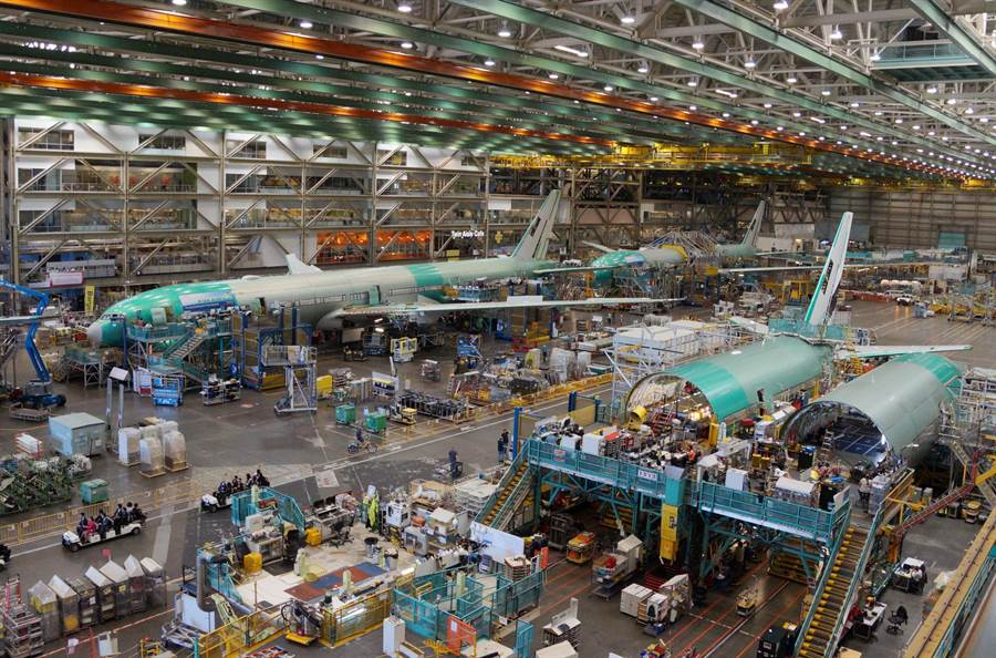 Boeing公司位於美國西雅圖的總部,規模相當大。(甘嘉雯攝)