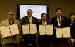 發展機場經濟學 台美簽署機場城市交流聯合聲明