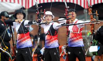 世大運》射箭測試賽 中華反曲弓拚韓爭雙金