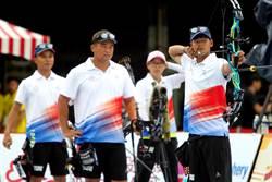 世大運》射箭測試賽 複合弓雙金留台灣