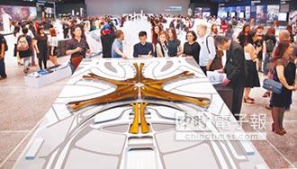 札哈‧哈蒂建築曲線美 3D呈現